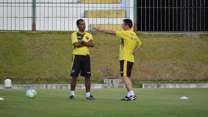 Roberto Fonseca e Zé do Carmo - ABC (Foto: Jocaff Souza/GloboEsporte.com)
