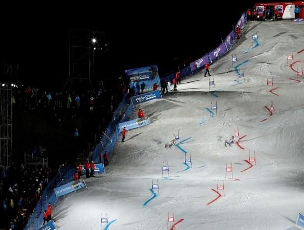 Copa do Mundo de esqui aplino - etapa de Munique (Foto: Divulgação)