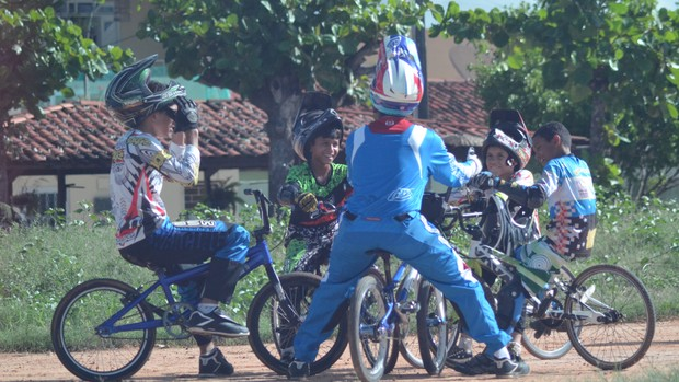 Sergipano de Bicicross começa neste domingo atletas (Foto: Felipe Martins/GLOBOESPORTE.COM)