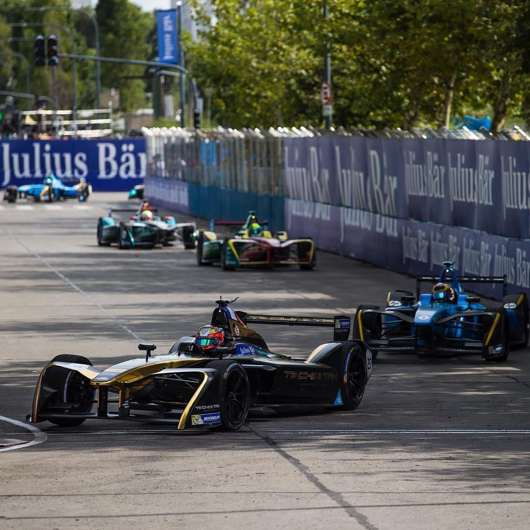Formula E, o celeiro dos carros elétricos que estarão na sua garagem (Foto: Reprodução/Instagram)