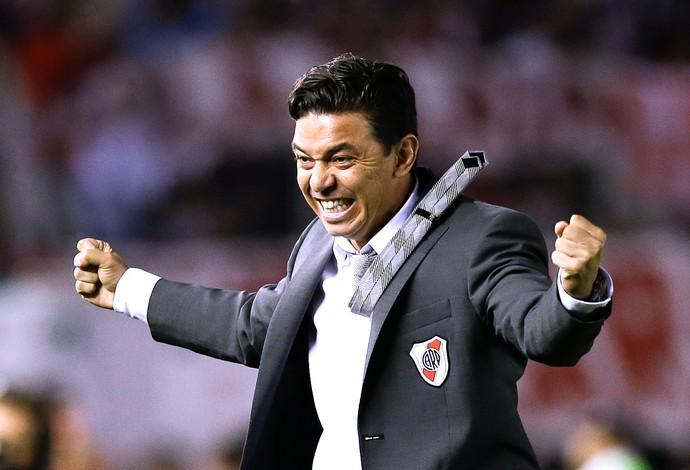 Marcelo Gallardo, Técnico River Plate (Foto: Agência AP )