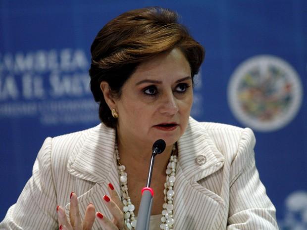Patricia Espinosa em foto de 2011 (Foto:  Luis Galdamez/Reuters)