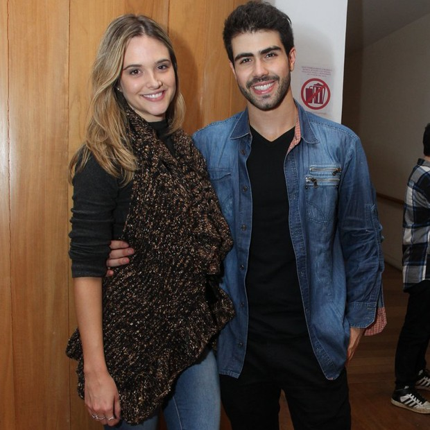 Juliana Paiva e Juliano Laham (Foto: Marcello Sá Barretto/AgNews)