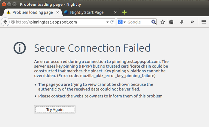 Recurso impede conexão caso haja problemas com os certificados (foto: Reprodução/The Next Web)