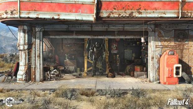 Cena do game 'Fallout 4'. da Bethesda. (Foto: Divulgação/Bethesda)