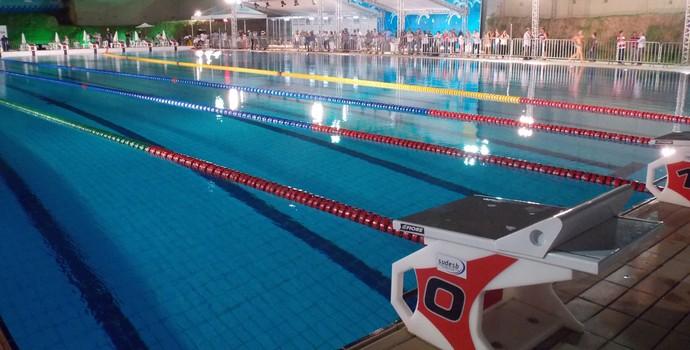 Piscina olímpica de Salvador (Foto: Thiago Pereira)