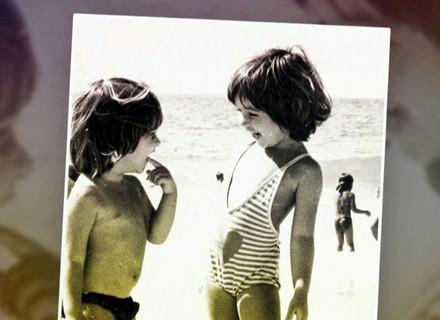 Ingrid Guimarães prega pegadinha e faz homenagem à irmã; veja fotos das duas na infância