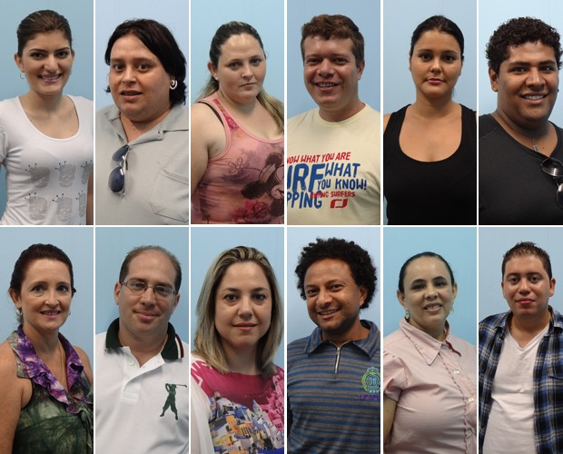 Doze concorrentes dos quatro cantos do país disputarão a grande final  (Foto: Mais Você / TV Globo)