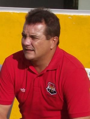 Mário Henrique, ou Mariozinho, técnico do Santa Cruz-PA, de Cuiarana (Foto: Divulgação)
