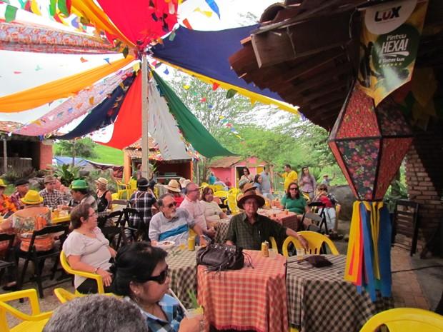 Evento atraiu cerca de 500 visitantes (Foto: Samara Souza/Divulgação)