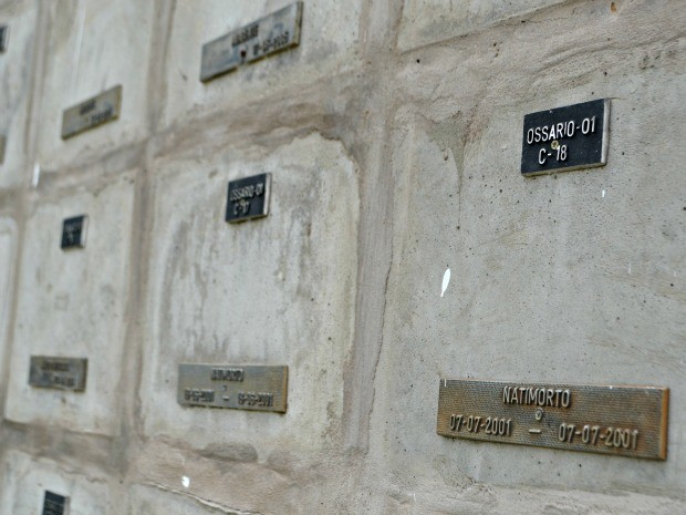 Prefeitura exumou 800 restos mortais de 2013 a 2015 (Foto: Aline Nascimento/G1)