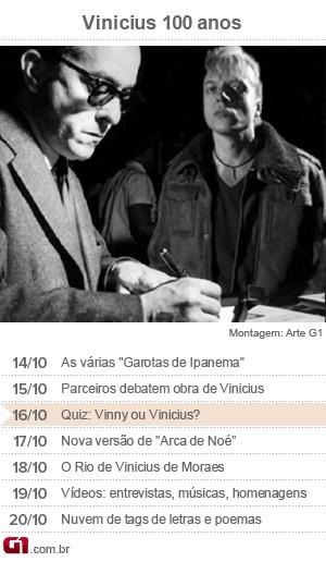 Calendário Vinicius de Moraes - dia 16 (Foto: Arte/G1)