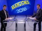 Candidatos a prefeito do Rio participam de debate na TV Globo