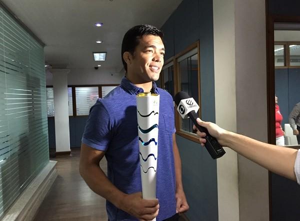 Lyoto Machida em entrevista para a TV Liberal (Foto: Foto: Emanuele Corrêa)
