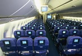 Classe econômica de avião (Foto: Alain Even / Photononstop/AFP)