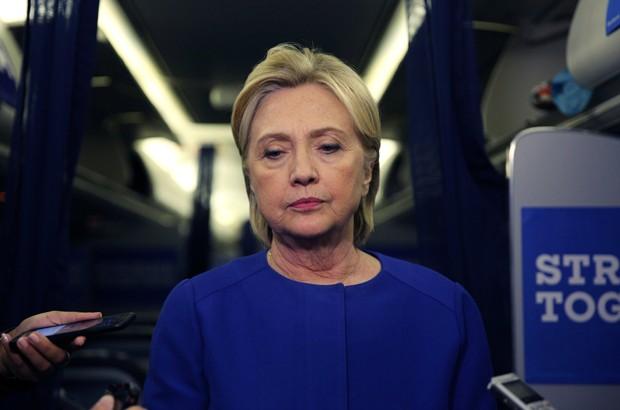 Hillary condenou 'aparentes atentados' em NY, Nova Jérsei e Minnesota (Foto: Carlos Barria/Reuters)