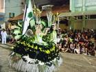 Começa o desfile das escolas de samba e blocos em São João del Rei