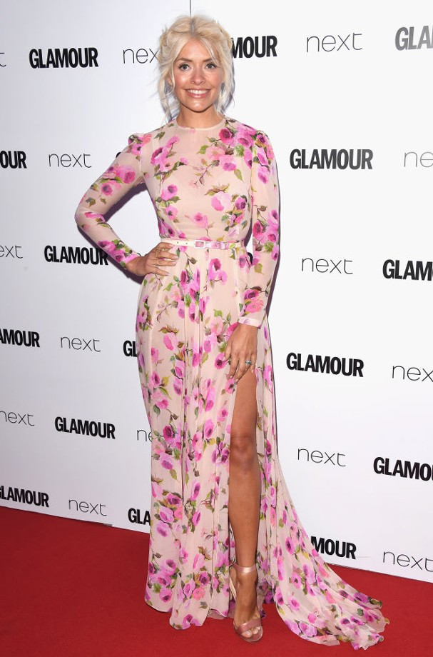 Holly Willoughby no Glamour Awards 2017 (Foto: Stuart C. Wilson/Getty Images)