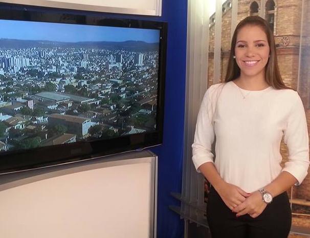 Maria Fernanda Ruas apresenta diariamente o bloco local do Bom Dia Minas (Foto: Maria Fernanda Ruas/ Arquivo Pessoal)