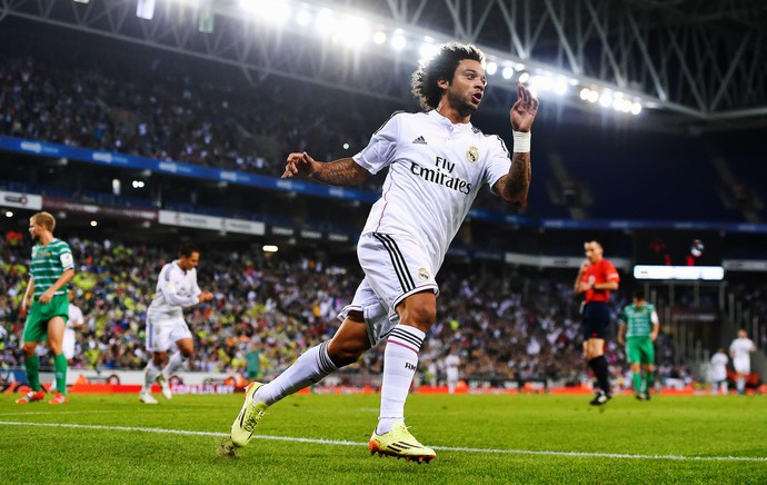 Cornella x Real Madrid - Marcelo (Foto: Getty Images)