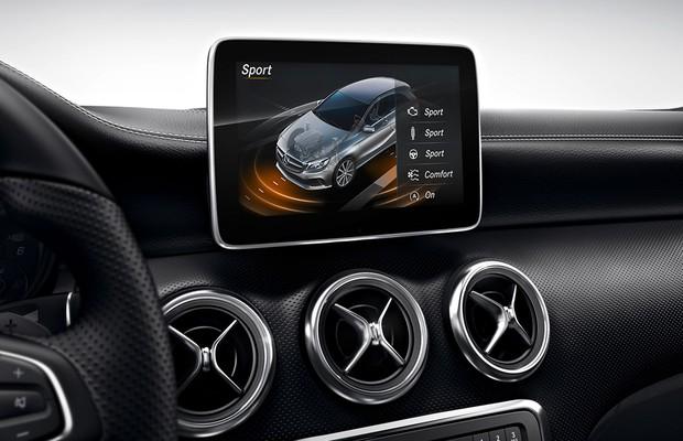 Tela do Mercedes-Benz Classe A (Foto: Divulgação)