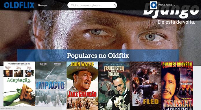 Oldflix é Netflix brasileiro de filmes clássicos (Foto: Reprodução/Paulo Alves)
