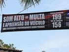 Itanhaém intensifica fiscalização de veículos que abusam do som alto
