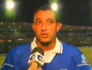 Missinho, ex-atacante do CSA (Foto: Reprodução TV Gazeta)