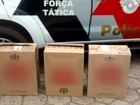 Polícia apreende 20 mil maços de cigarro contrabandeado em Marília