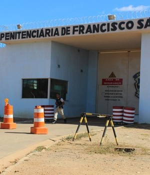 Penitenciária de Francisco Sá (Foto: Valdivan Veloso/Globoesporte.com)