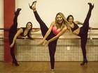Lexa mostra flexibilidade em foto com a perna para o alto: 'Sem apoio'
