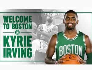 Kyrie Irving é confirmado no elenco do Boston Celtics (Foto: Reprodução/Instagram)