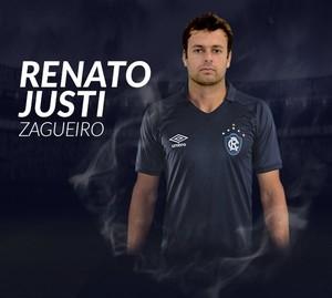Renato Justi chega ao Leão para a reta final da Série C (Foto: Reprodução/Remo)