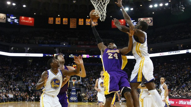 Kobe Bryant; Los Angeles Lakers - AP (Foto: AP)