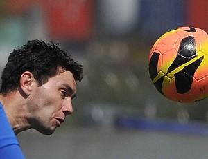 Eugenio Mena, lateral do Santos (Foto: Ivan Storti / Santos FC)