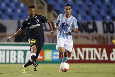 Rodrigo Lindoso Botafogo x Macaé (Foto: Vitor Silva/SSPress)