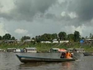 Grande parte dos 30 mil habitantes de Curralinho são ribeirinhos (Foto: Reprodução / TV Liberal)