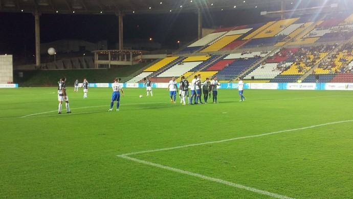 Rio Branco-ES x Seleção Capixaba (Foto: Sidney Magno Novo/Globoesporte.com)