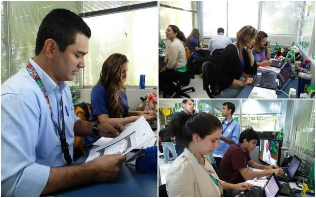 'Sala de Guerra' visa facilitar a comunicação entre cidades envolvidas direta e indiretamente na Copa (Foto: TV Amazonas)
