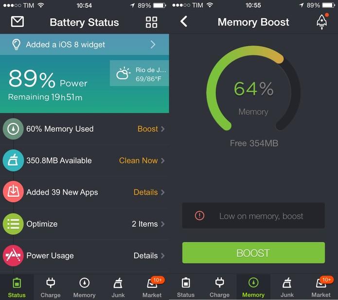 Faça o download do aplicativo Memory Boost para realocar a memória do seu dispositivo (Foto: Reprodução/Juliana Pixinine)