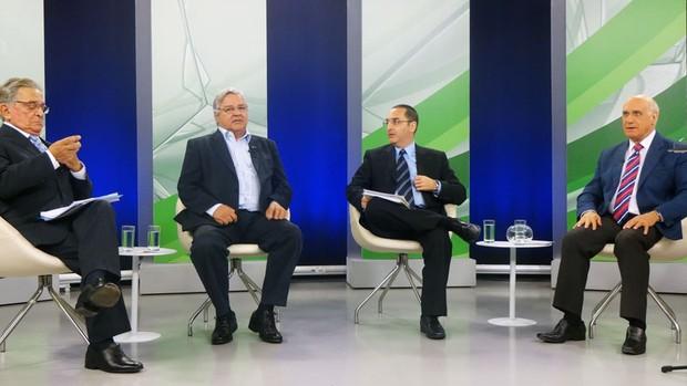odone koff  homero bellini eleição presidente grêmio eleição debate (Foto: Hector Werlang/Globoesporte.com)