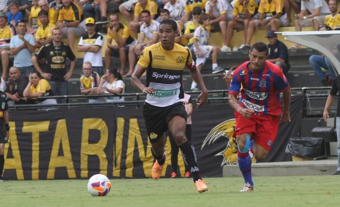 Cleber Santana Criciúma Marcílio Dias (Foto: Fernando Ribeiro / Criciúma EC)