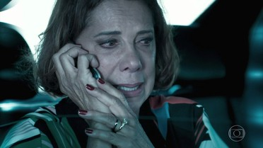 Lígia relembra desespero ao descobrir a sabotagem no carro de Mirella