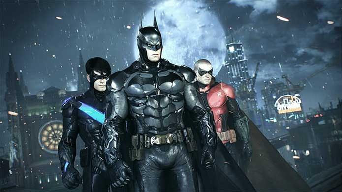Batman e seus aliados em Arkham Knight (Foto: Divulgação/Warner)