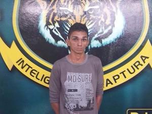 Fugitico se entregou à unidade prisional (Foto: Divulgação/Dicap)