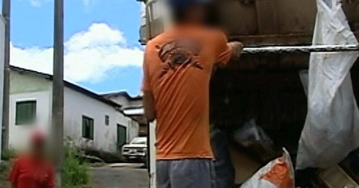 360c445675746 G1 - Garis trabalham sem equipamentos de proteção obrigatórios em Araxá -  notícias em Triângulo Mineiro