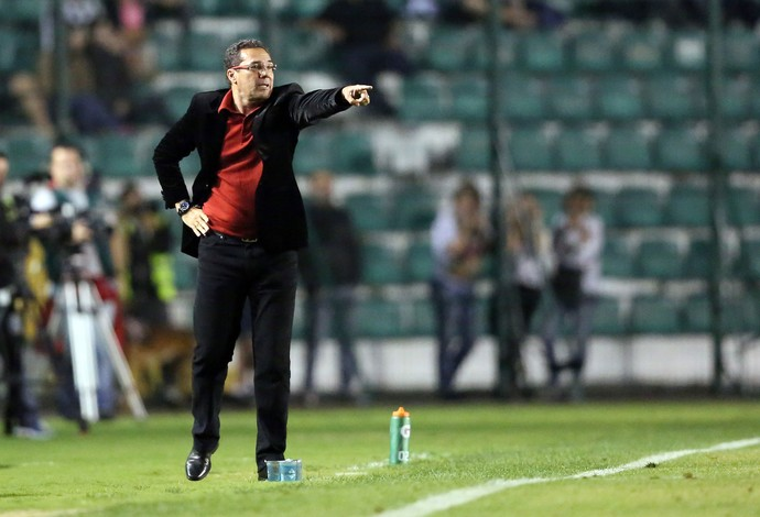 Luxemburgo técnico do Flamengo x Figueirense (Foto: Getty Images)