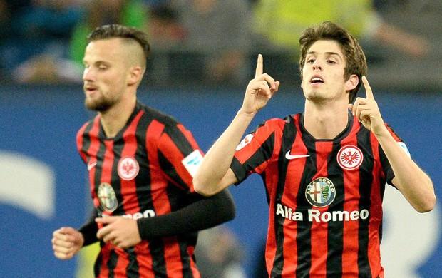 Lucas Piazon, Hamburger x Eintracht Frankfurt (Foto: EFE)