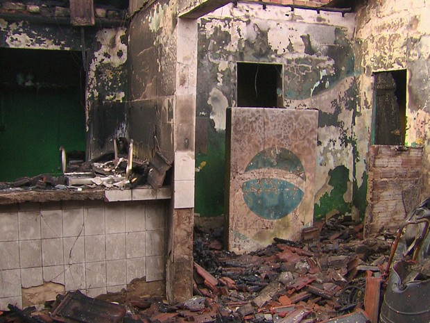 incêndio vasco da gama (Foto: Reprodução/ TV Globo)