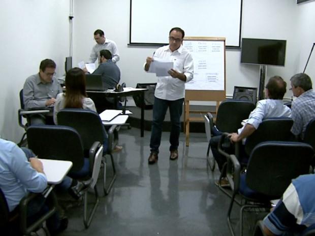 Reunião define debate dos candidatos a prefeito de Sertãozinho, SP (Foto: Reprodução/EPTV)